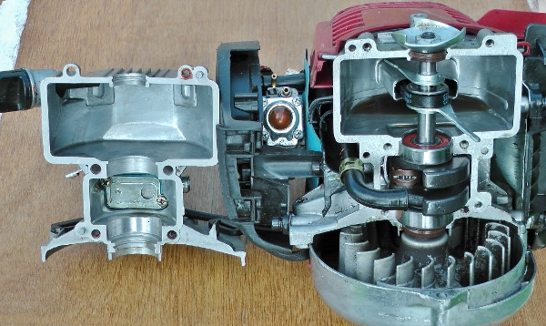 Honda GX35 Lubrication System(600x358)