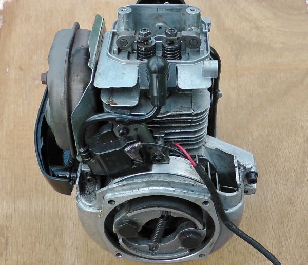 Honda engins with small muffler(600x516)