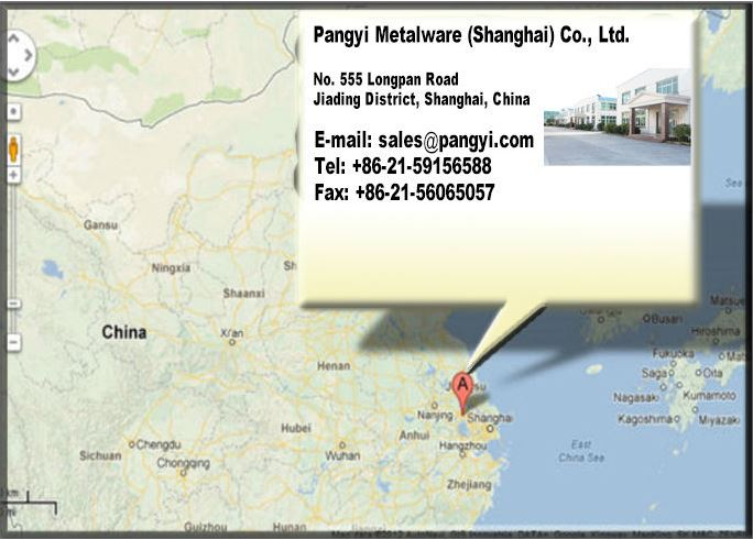 Pangyi Sheetmetal email address