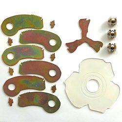 brushdestructor model-17 spare parts