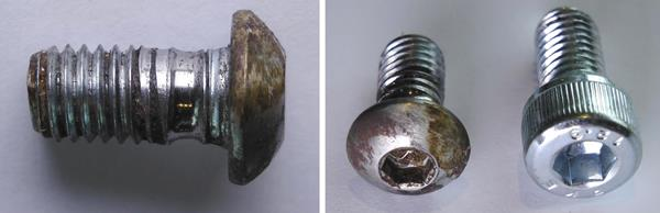 BrushDestructor Fastening Bolts