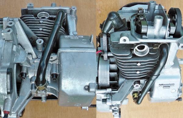Honda engine oil return pipe (600x388)