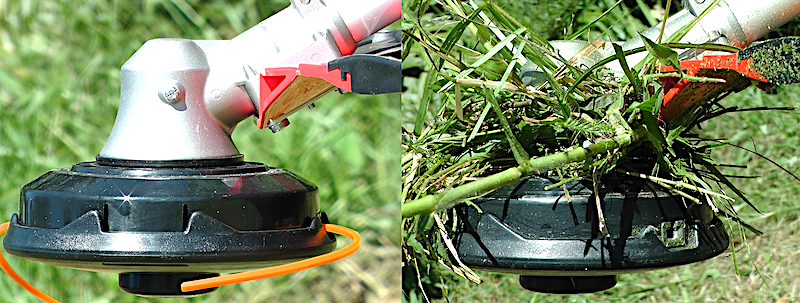 4 2 3 1 – Q & A – Why does my brush cutter line keep breaking?