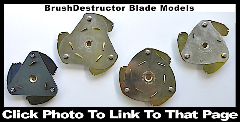 This photo links you to the page of all the different blade models