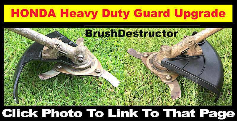 Photo link page to BrushDestructor heavy duty guard