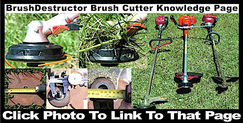 This photo links you to a page with all the information needed to make an informed decision to when purchasing a brush cutter