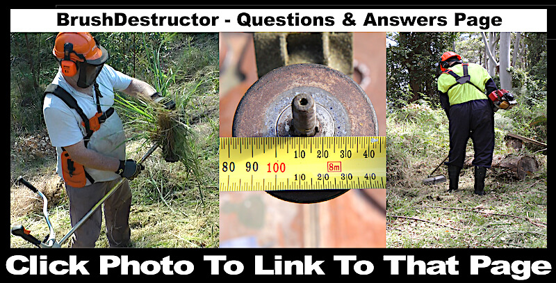 This photo links you to the BrushDestructor Question and Answers page